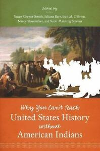 the cover of You Can't Teach United States History without American Indians
