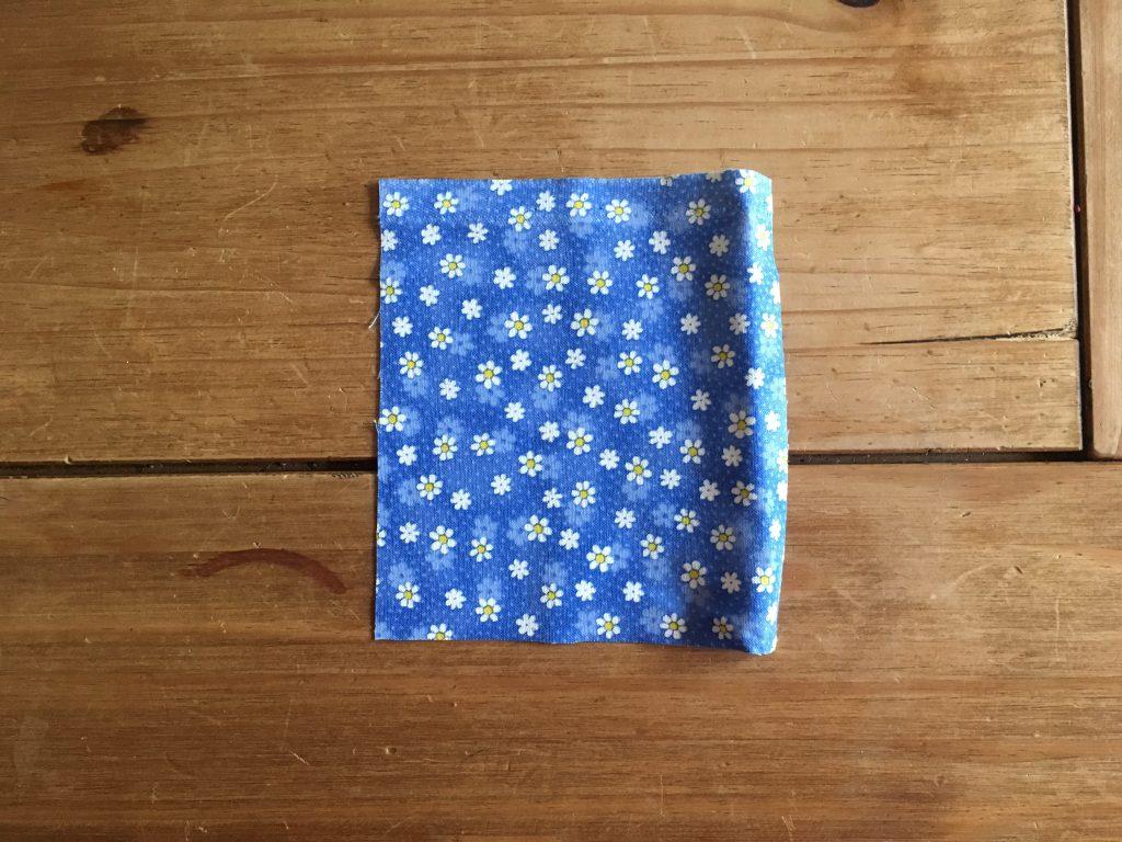 square of fabric