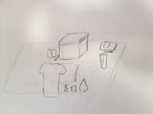 A still life drawing (3)