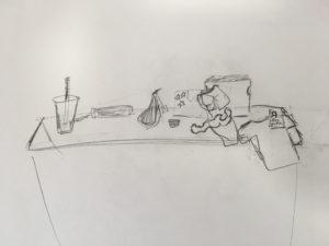 A still life drawing (4)